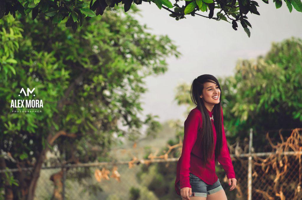 Carolina sesión fotográfica en la naturaleza