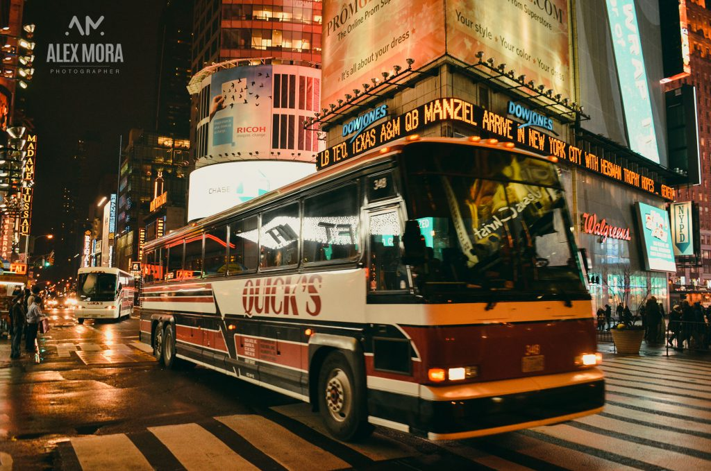 New York City United States of America Bus