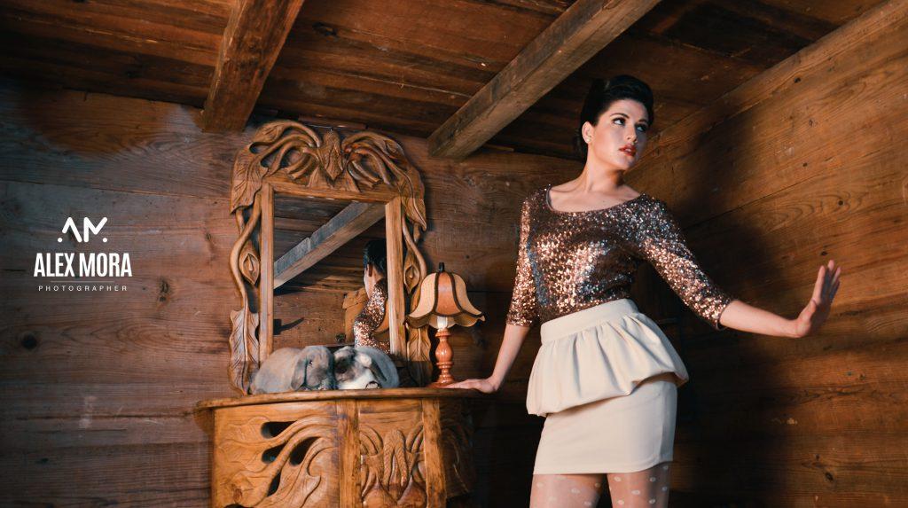 patty photoshoot sesion promocional de modelaje vintage retro uruapan michoacan mexico