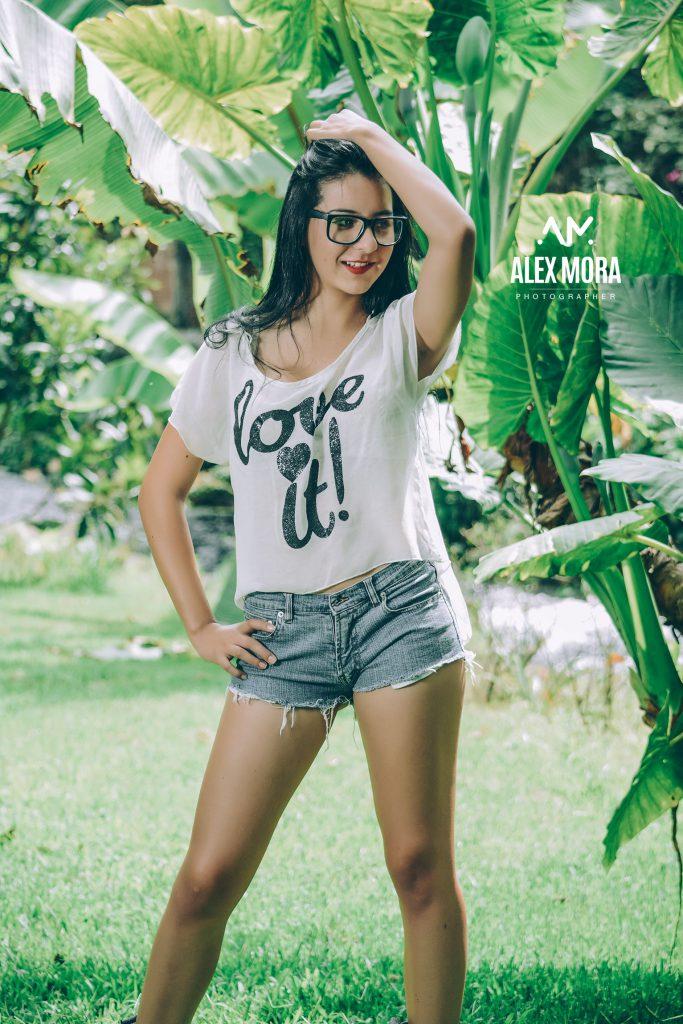 Sheila | Sesión casual informal de modelaje de entrenamiento en la naturaleza del hotel uruapan